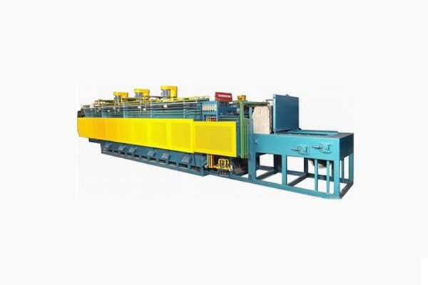 Mesh belt carburizing furnace
